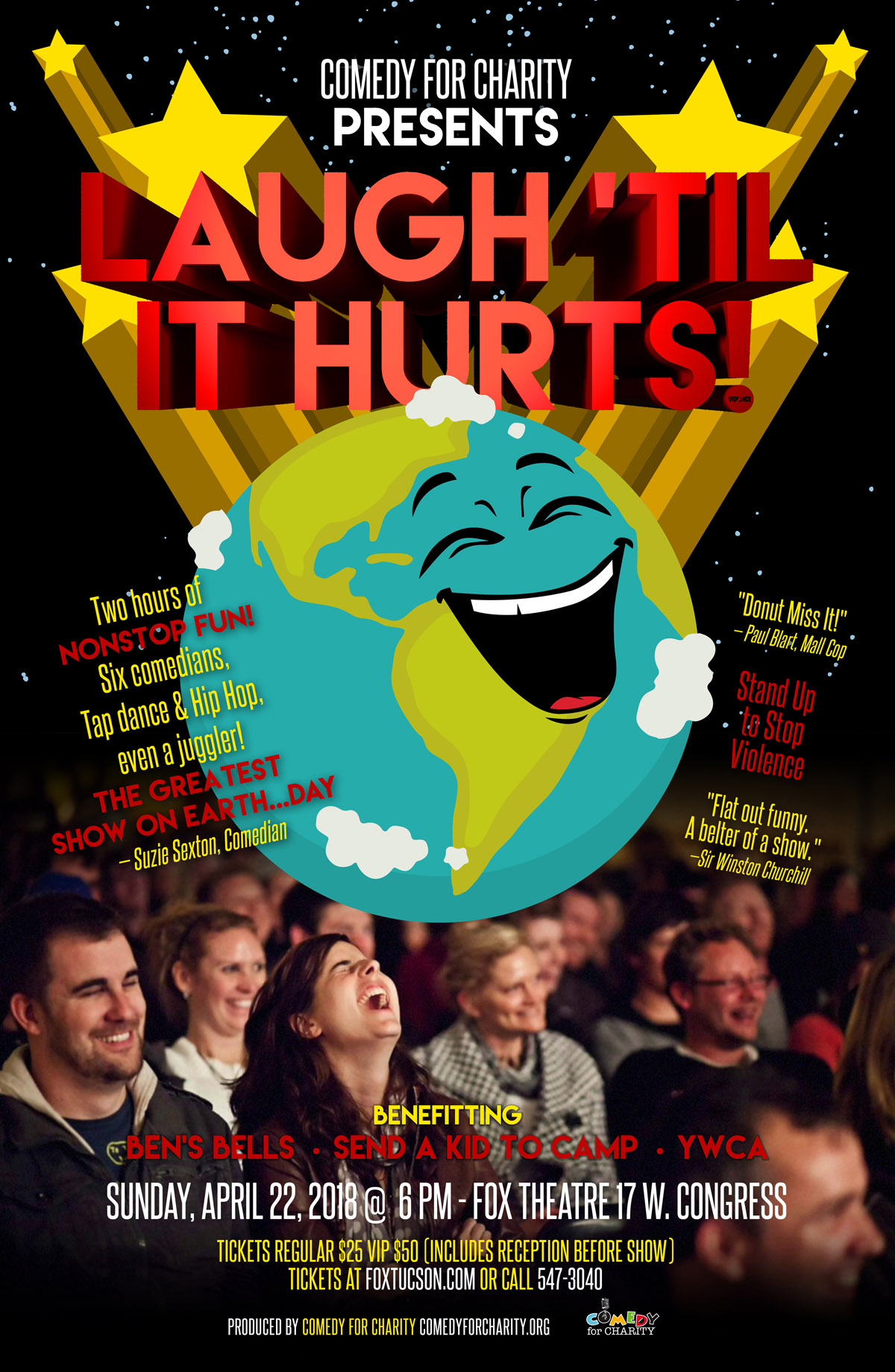 Laugh 'til it Hurts Poster 2018